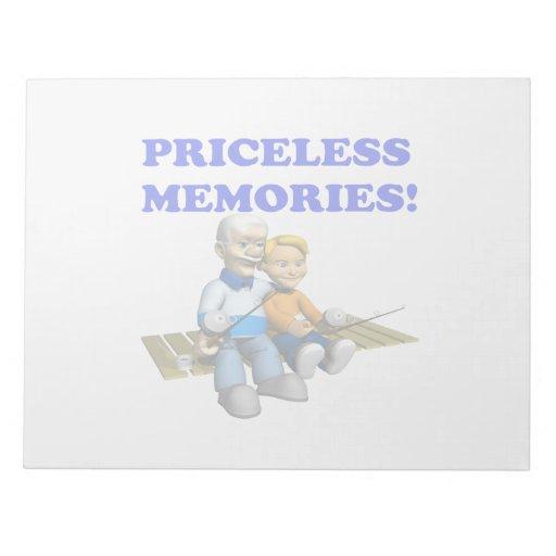 Memorias inestimables blocs de papel
