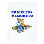 Memorias inestimables invitación 12,7 x 17,8 cm