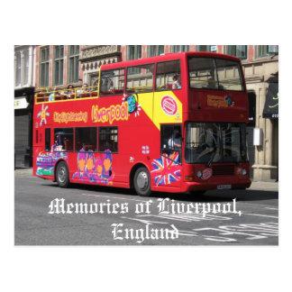 Memorias postal de Liverpool, Inglaterra