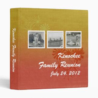 """Memorias retras de la familia (naranja quemado carpeta 1"""""""