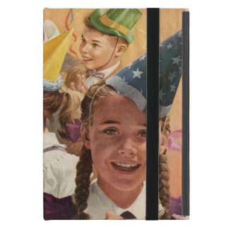 Memorias retras de la niñez del vintage de las iPad mini cárcasa