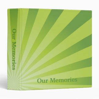 Memorias verdes del resplandor solar