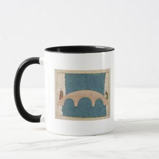 Memorie Turchesche' depicting the Galata Bridge Mug