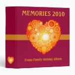 Memories 2010: Evans Family Holiday Album - Binder