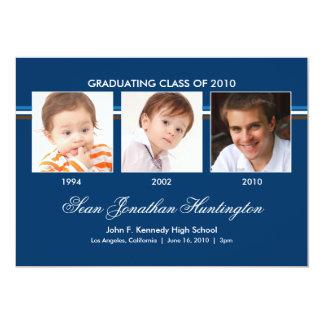 Memories 3 Photo Graduation Announcement