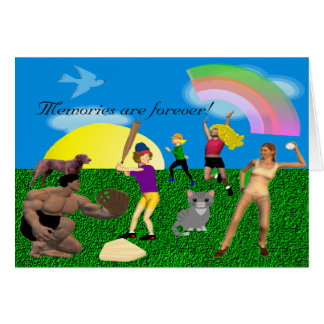Memories Are Forever Family Fun Card
