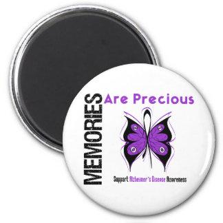 Memories Are Precious Alzheimer's Disease 2 Inch Round Magnet