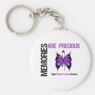 Memories Are Precious Alzheimer's Disease Basic Round Button Keychain