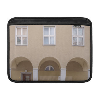 Memories behind windows and doors MacBook air sleeve