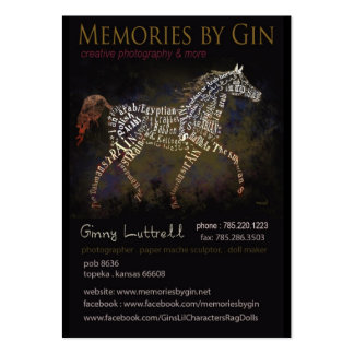 Memories by Gin Business Cards