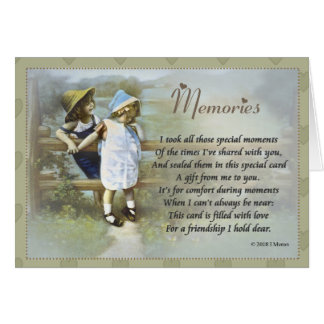 Memories Card