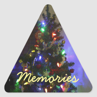Memories Christmas Tree Sticker by RoseWrites