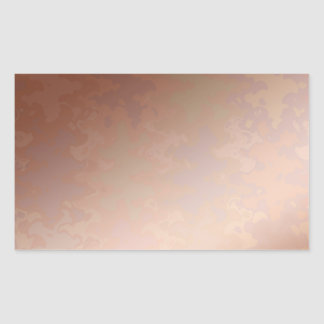 Memories  Copper   BREAKER 3d cooler color floral Rectangular Sticker