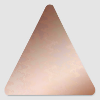 Memories  Copper   BREAKER 3d cooler color floral  Triangle Sticker