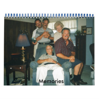 Memories - Customized - Customized Calendar
