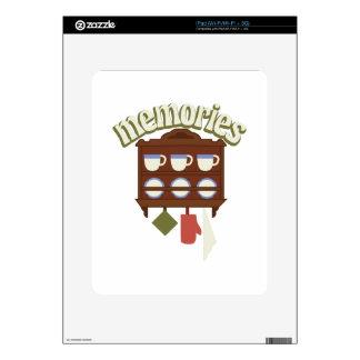 Memories Decals For iPad