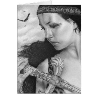 Memories Egyptian Beauty   Card