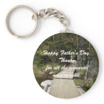 Memories Father's Day Keychain