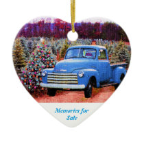 Memories for Sale Ceramic Ornament
