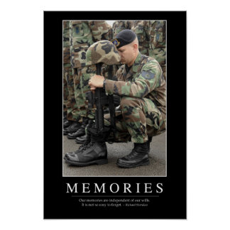 Memories Inspirational Quote 1 Posters
