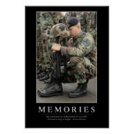 Memories: Inspirational Quote 1 Posters