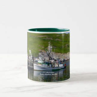 Memories, Longliner in Dutch Harbor, Alaska Two-Tone Coffee Mug