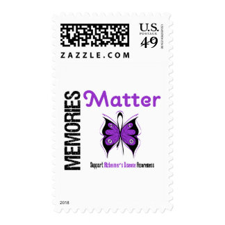 Memories Matter Alzheimer's Disease Postage