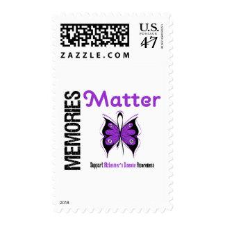Memories Matter Alzheimer's Disease Stamp