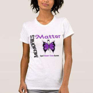 Memories Matter Alzheimer's Disease Tshirt