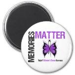 Memories Matters v2 Alzheimer's Disease Refrigerator Magnet