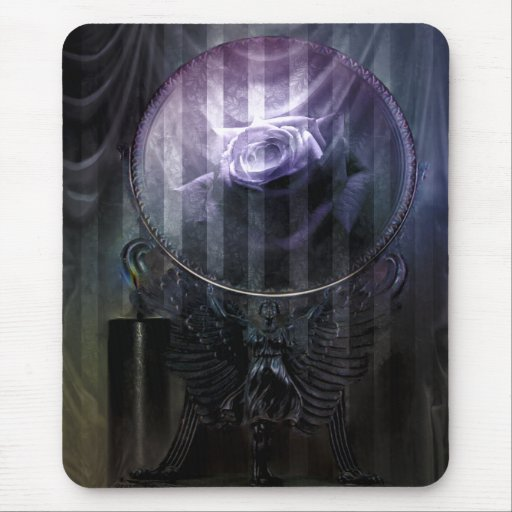 Memories Never Fade Goth Art Mouse Pads