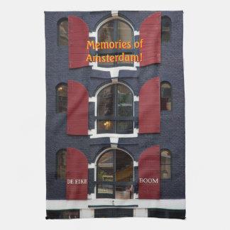Memories of Amsterdam, The Oak Tree, De Eiken Boom Kitchen Towel