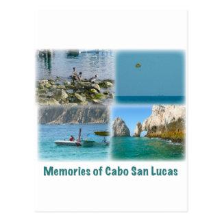 Memories of Cabo San Lucas Postcard