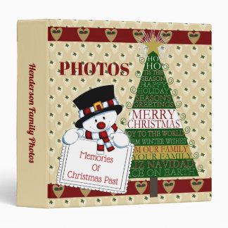 Memories Of Christmas Past Photo Binder