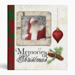 memories of christmas photo album 3 ring binder