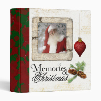 memories of christmas photo album 3 ring binder