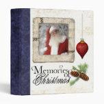 memories of christmas photo album binder