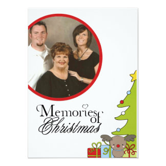 memories of christmas Photo Christmas Card