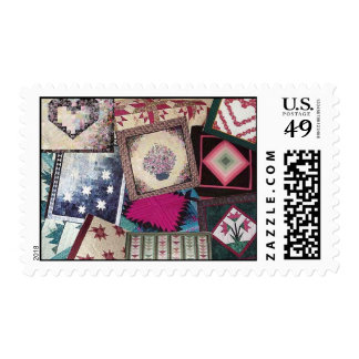 Memories of Her Quilts Postage