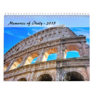 Memories of Italy - 2015 Calendar