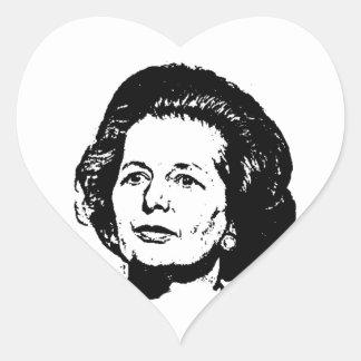 Memories of Margaret Thatcher Heart Sticker
