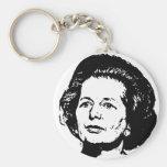 Memories of Margaret Thatcher Basic Round Button Keychain