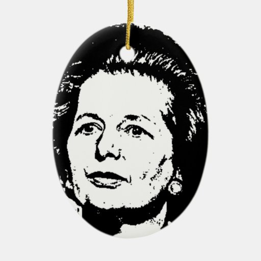 Memories of Margaret Thatcher Christmas Tree Ornament