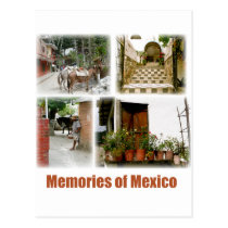 Memories of Mexico Postcard
