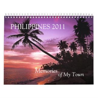 Memories of My Town Philipine Calendar 2011