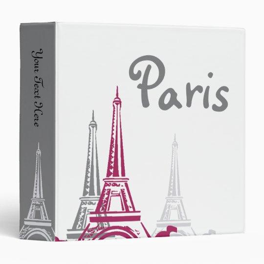 Memories of  Paris Binder