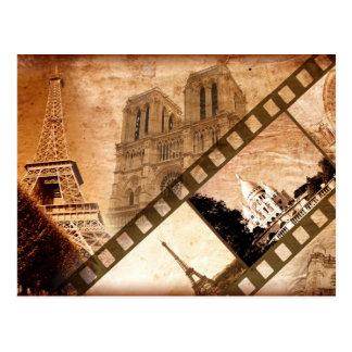 Memories of Paris Post Card
