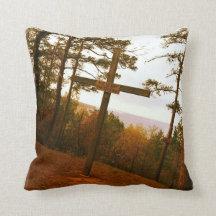 Memories of Pine Cove Camp Pillow