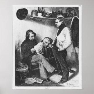 Memories of Sainte-Pelagieillustration Poster