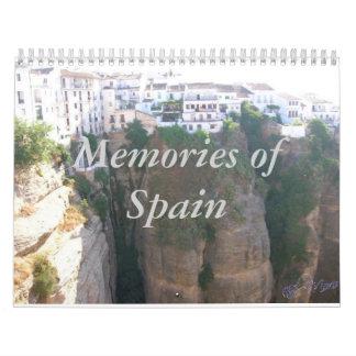 Memories of Spain '09 Calendar
